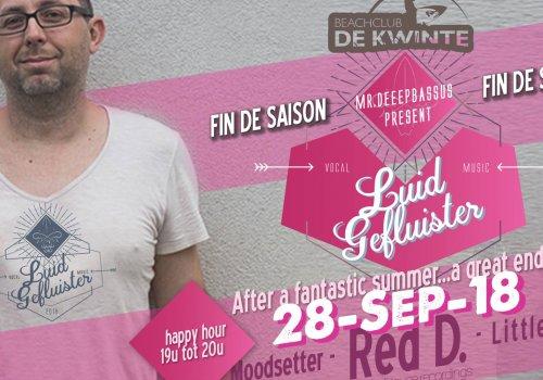 "Fin de Saison De Kwinte - Party & ""Joey's Southern BBQ"""