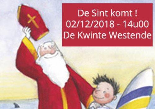 De Sint komt naar De Kwinte