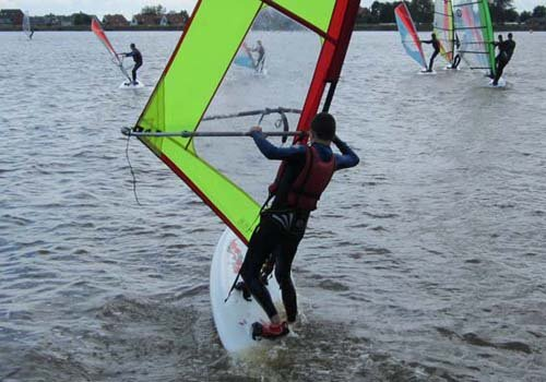 Start windsurftrainingen 2016