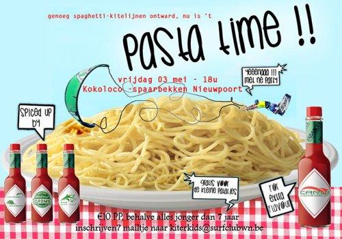 Spaghetti avond jeugdwerking